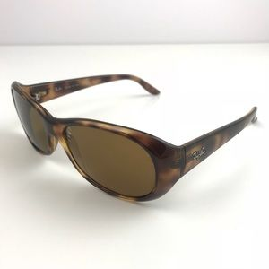 RAY-BAN sunglasses RB4061 polarized 642/57 brown